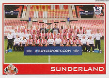 N°359 SUNDERLAND.FC TEAM Premier League 2009-2010 TOPPS STICKER VIGNETTE