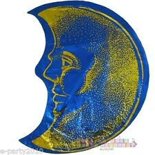 HALF MOON FOIL MYLAR BALLOON ~ Birthday Party Supplies Helium Room Decorations