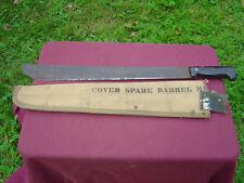 WW2 Combat MACHETE Sheffield England- U.S.Sheath Spare Cover 9M machine Gun Bar