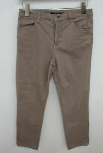 J.BRAND Ladies Light Brown High Waisted Rise Slim Fit Jeans Size W28 L26