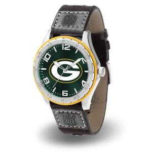 Green Bay Packers Men's Sports Gambit Watch [NEW] NFL Jewelry Wrist