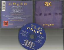 TLC Creep w/ RARE MIXES & INSTRUMETAL 6TRX LIMITED CD single 1994 Jermaine Dupri