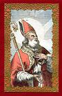 SANTINO SANT'EMILIANO di VERCELLI IMAGE PIEUSE - HOLY CARD- Heiligenbild