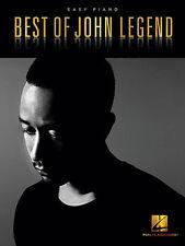 BEST OF JOHN LEGEND EASY PIANO SHEET MUSIC SONG BOOK