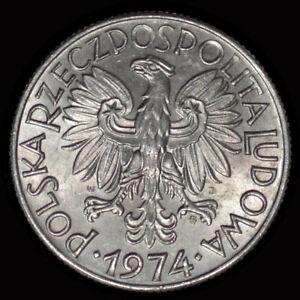 1974 Poland 5 ZLOTYCH