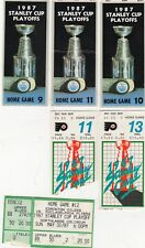 1987 WORLD CHAMP GRETZKY OILERS STANLEY CUP FINALS PLAYOFF TICKET STUB PICK ONE