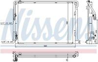 NISSENS Air-con Condenser - 940422 (3 Year Guarantee)
