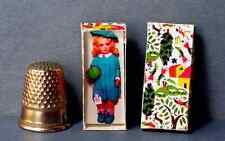 Dollhouse Miniature 1:12 scale Lenci Doll Box 1920s Italy dollhouse girl