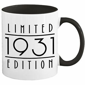 90th Birthday Mug Coffee Cup Ninety 1931 Funny Gift For Women Men Her Him U-67H