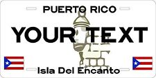Puerto Rico 1986 License Plate Personalized Auto Car Custom VEHICLE OR MOPED