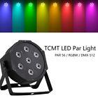 7X10W 4in1 LED RGBW Stage Par Light PAR56 Washer DMX512 Stage Wash Lighting