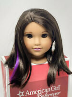 American Girl Doll Luciana Vega Wig for Replacement Parts and Customs, Wig Only