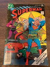 Superman #314 - 1977 -DC Comics - Mark Jeweler Variant RARE 👍🏻