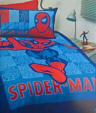 ~ Spiderman - DOONA DOUBLE MARVEL OFFICAL QUILT DUVET Full COVER + BLANKET THROW