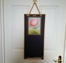 ❀ڿڰۣ❀ BOOTH DESIGN WORKSHOP Remembrance Day RED POPPY FLOWER Black CHALK BOARD ❀