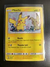 Pokemon Pikachu SM162 Holo Black Star Promo NM