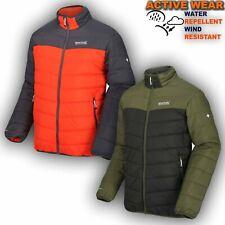 Men Winter Jacket Hiking Synthethic Insulated Padded Warm Work Coat Iceb