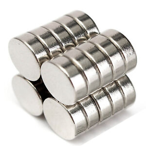 12mm x 3mm Very Strong Rare Earth Ring Circular Neodymium Disc Round Magnets