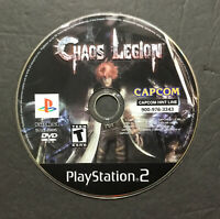 Chaos Legion (PlayStation 2 PS2) - DISC ONLY Tested Free Shipping