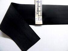 Latex Rubber Stripping 0.45mm Thick, 45mm Wide, Black