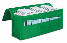 hannah direct Expandable Coupon Organizer in GREEN