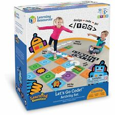 Learning Resources Ages 5+ Let's Go Code Activity Set (ler2835)