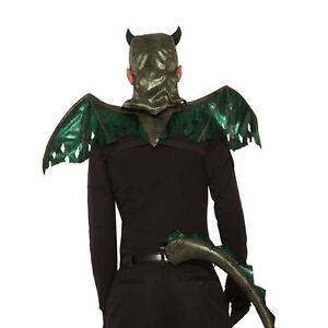 Adult Green Dragon Wings Medieval Game Thrones Halloween Costume Accessory