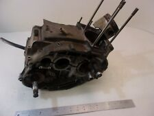 1978 HONDA XL350 XL 350 ENGINE MOTOR CASES CASE CRANK SHAFT RUST STUCK PISTON
