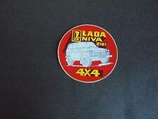 Sticker autocollant : Lada Niva 2121 4x4