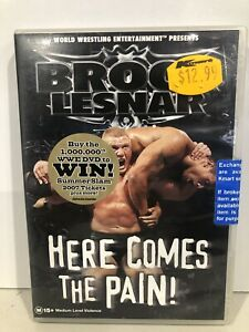 WWE Brock Lesnar HERE COMES THE PAIN! (DVD, R4) NEW