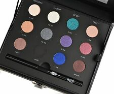 Make Up For Ever Makeup Studio Case 12 Eye Shadow Eye Liner Palette Made Italy