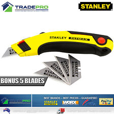 Genuine Stanley® Fatmax New PRO Retractable Ultility Knife with 5 Blades Quality