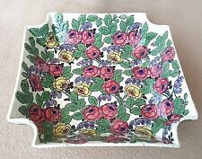 ANTIQUE ROYAL VIENNA TURN TEPLITZ SECESSIONIST JUGENDSTIL ST CERAMIC BOWL ROSES