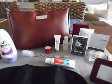QANTAS First Class SK-II Ladies' Amenity Kit Bag Trousse Neceser Kulturbeutel