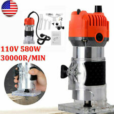 1/4''inch Electric Hand Trimmer Wood Laminate Router Joiner Tool 30000RPM