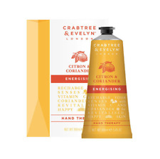 NEW Crabtree & Evelyn Citron & Coriander Hand Therapy 100ml Natural