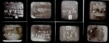 8 Magic Lantern Slides Boys Institute of Industry Roxbury MA Lot #3 TEMPERANCE