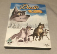 Balto 3 Movie Collection 1 2 3 Dvd Set Wolf Quest Wings Of Change