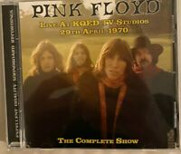 "PINK FLOYD : ""Live At KQED TV Studios 1970"" (Soundboard) (RARE CD)"