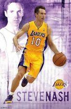 STEVE NASH ~ FOCUS 22x34 NBA POSTER Los Angeles Lakers Basketball