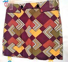 Ann Taylor Loft Woman's Skirt Sz 6 P Mini Pencil Geometric Retro Mod Boho Hippie