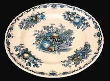 Masons Fruit Basket Blue Dinner Plate