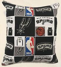Spurs Pillow San Antonio Pillow California NBA Handmade in USA
