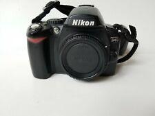 Nikon D40 6.1MP Digital SLR Camera - Black (Body Only, w/Battery)