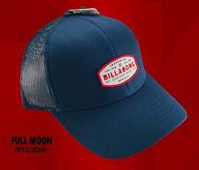 New Billabong Red White Blue Spinner Mens Snapback Trucker Cap Hat