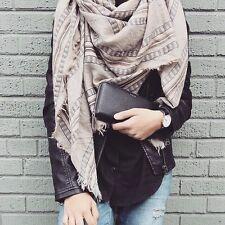 100% wool Multi striped Wilfred blanket scarf