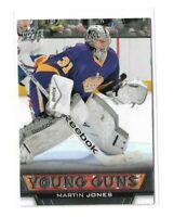 2013-14 UPPER DECK #485 MARTIN JONES YG RC UD YOUNG GUNS ROOKIE KINGS