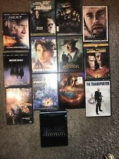 🔥13 Dvd Lot Action Thriller Hanks Cruise Affleck Freeman Willis Cage Connery +