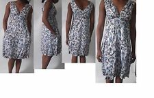 V Neck 50's, Rockabilly Casual Floral Dresses for Women