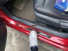 Car Accessories Rubber Door Sill Protector Strip Scuff Plate Guard Auto Sticker